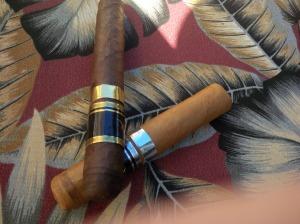 both cigars