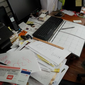 scheduling desk