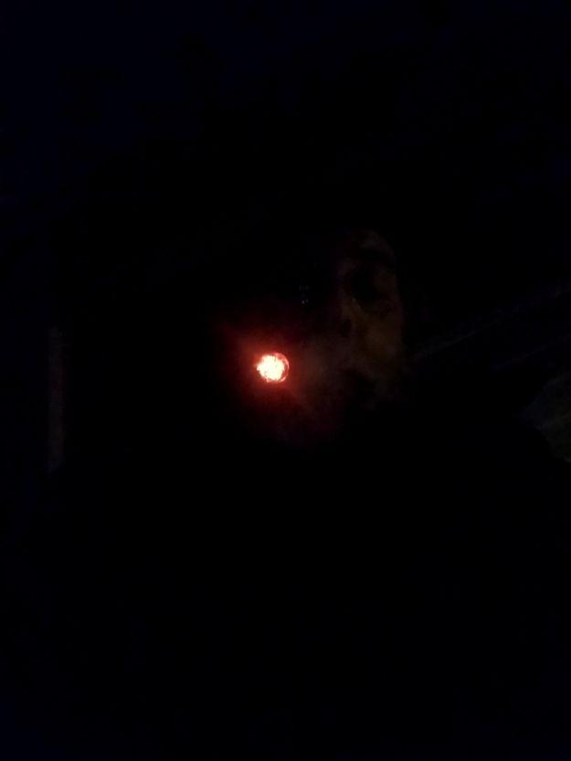 glowing ember